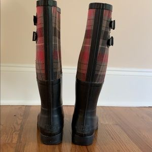 UGG Shoes - LIMITED EDITION UGG SABENE PLAID RAINBOOTS